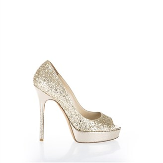 gold-sparkly-glittered-open-toe-pumps